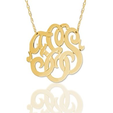 Monogram Necklaces