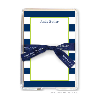Boatman Geller Personalized Note Sheets