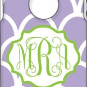 Otterbox Lavender Indonesia Apple Green Hollow Vintage Frame