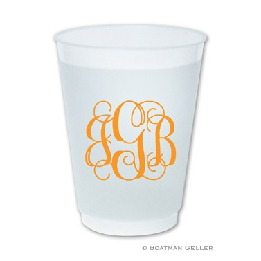 Boatman Geller Personalized Frost Flex Cups