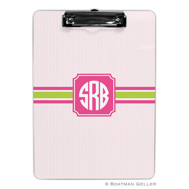 Boatman Geller Personalized Clipboards