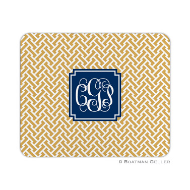Personalized Mouse Pad Stella Gold - Boatman Geller