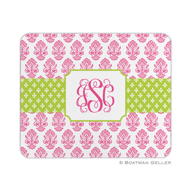 Personalized Mouse Pad Stripe Beti Pink
