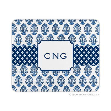 Personalized Mouse Pad Stripe Beti Navy