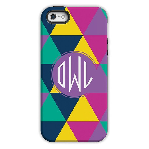 Monogram iPhone 6 / 6S / 6 Plus Case - Acute by Dabney Lee Circle