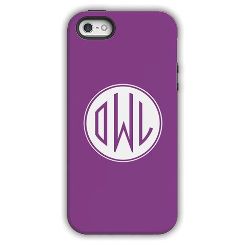 Monogram iPhone 6 / 6S / 6 Plus Case – Beet by Dabney Lee Circle