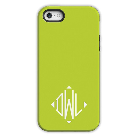 Monogram iPhone 6 / 6S / 6 Plus Case - Chartreuse by Dabney Lee Diamond