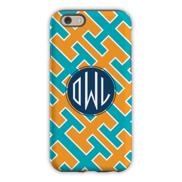 Monogram iPhone 6 / 6S / 6 Plus Case - Acapulco by Dabney Lee Circle