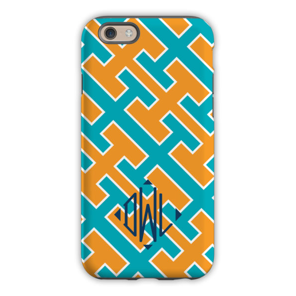 Monogram iPhone 6 / 6S / 6 Plus Case - Acapulco by Dabney Lee