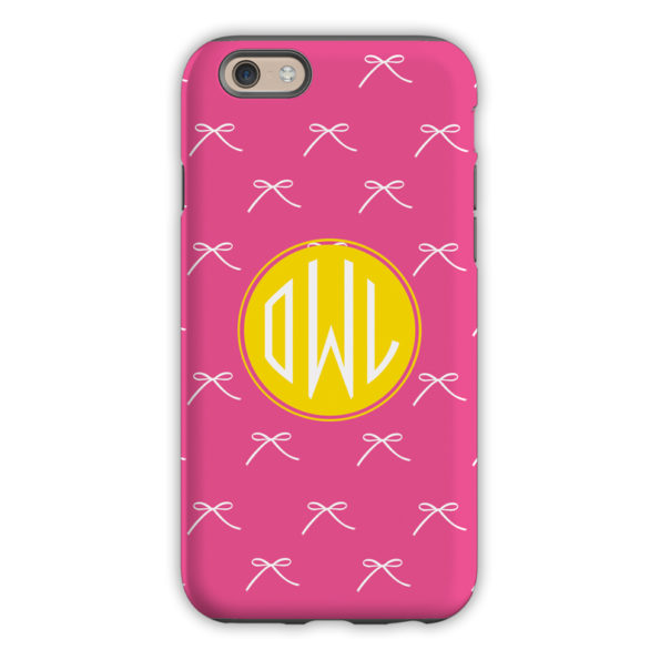 Monogram iPhone 6 / 6S / 6 Plus Case - Chloe by Dabney Lee Circle
