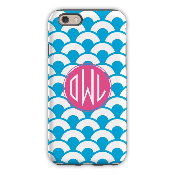 Monogram iPhone 6 / 6S / 6 Plus Case - Coins by Dabney Lee Circle