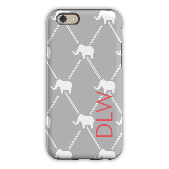 Monogram iPhone 6 / 6S / 6 Plus Case - Dumbo by Dabney Lee Block
