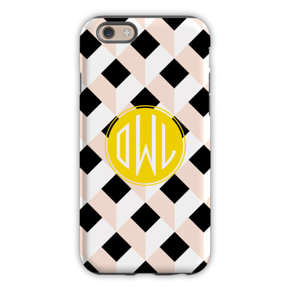 Monogram iPhone 6 / 6S / 6 Plus Case Golden Girl - by Dabney Lee Circle