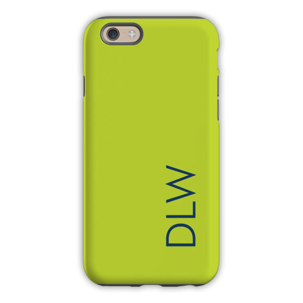 Monogram iPhone 6 / 6S / 6 Plus Case – Chartreuse by Dabney Lee Block