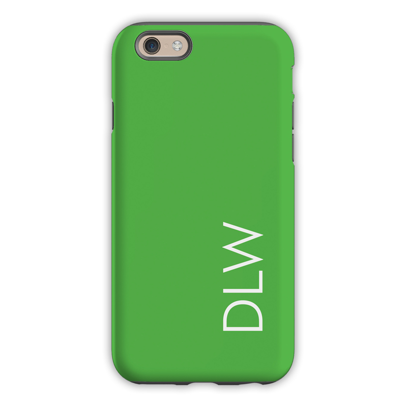 Monogram Iphone 6 6s 6 Plus Case Grass By Dabney Lee