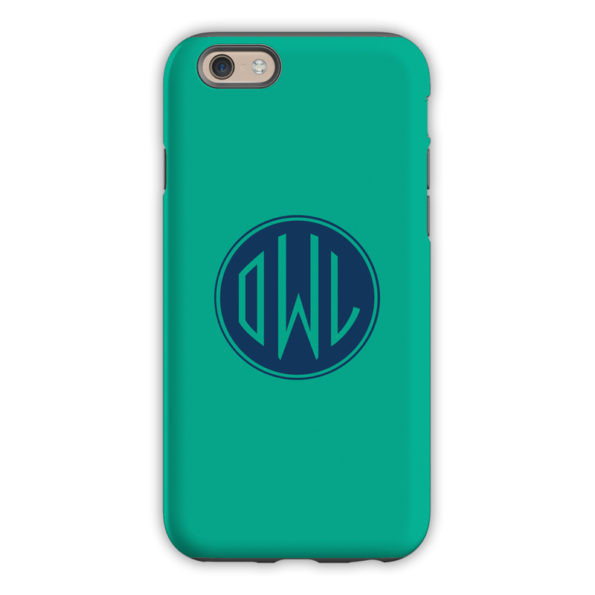 Monogram iPhone 6 / 6S / 6 Plus Case – Jewel by Dabney Lee Circle