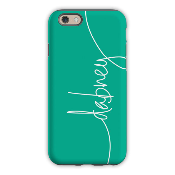 Monogram iPhone 6 / 6S / 6 Plus Case – Jewel by Dabney Lee Script