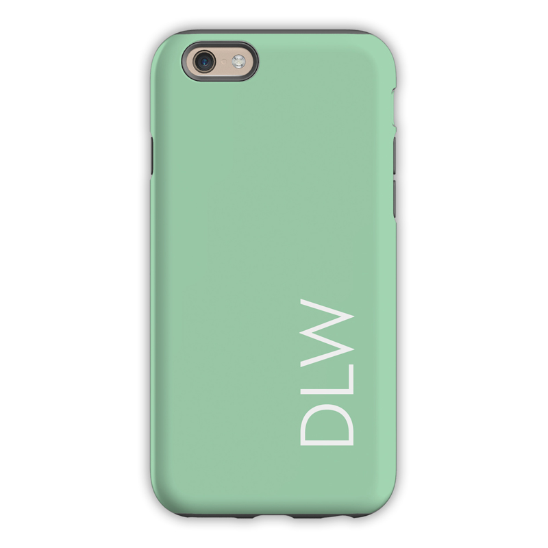 Monogram Iphone 6 6s 6 Plus Case Mint By Dabney Lee