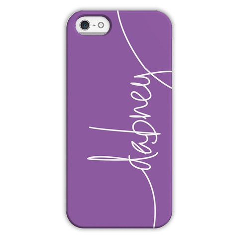 Monogram iPhone 6 / 6S / 6 Plus Case - Eggplant by Dabney Lee Script