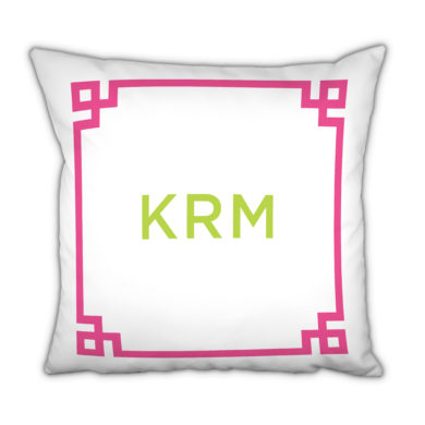 Boatman Geller Monogram Pillows