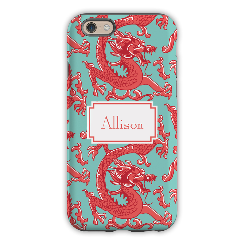 Monogram Iphone 6 6s 6 Plus Case Imperial Coral By