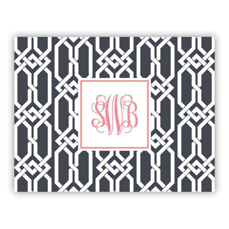 Personalized Folded Note Cards Arden