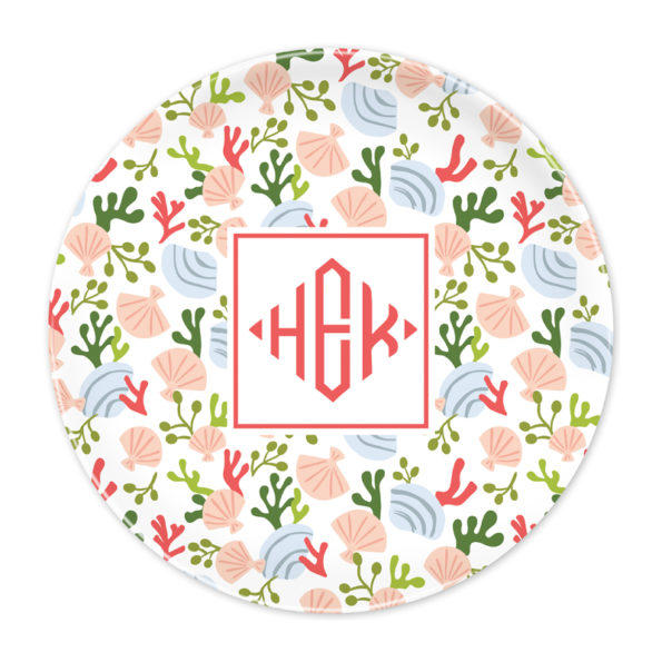 Monogram Plate - Beachcomber by Boatman Geller