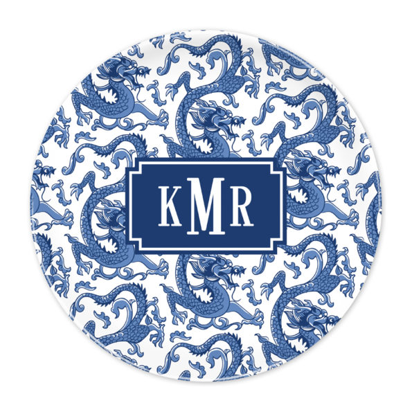 Monogram Plate - Imperial Navy by Boatman Geller