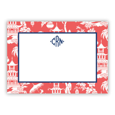 Boatman Geller Personalized Flat Note Cards