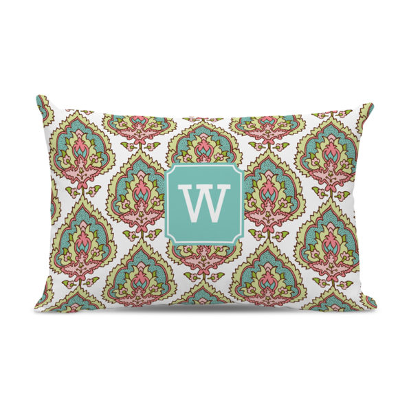 Monogram Pillow Cora Spring - Lumbar