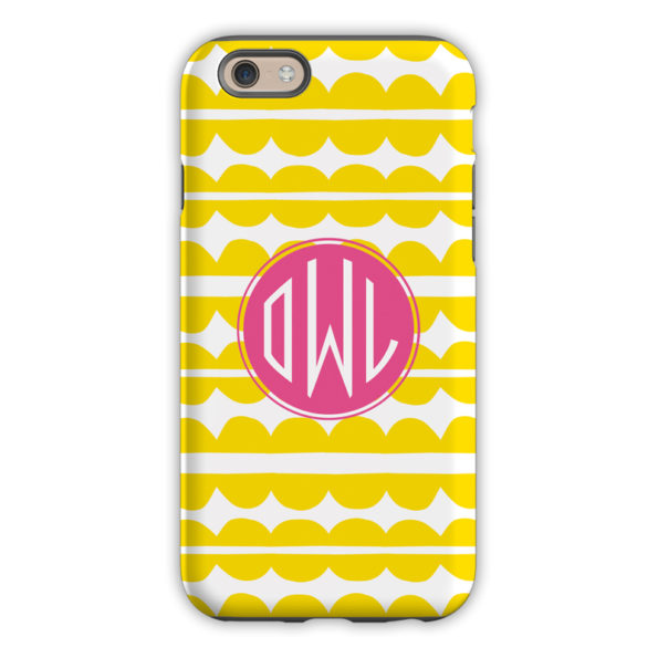Monogram iPhone 6 / 6S / 6 Plus Case Caterpillar Circle