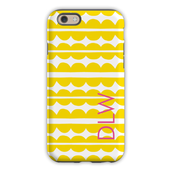 Monogram iPhone 6 / 6S / 6 Plus Case Caterpillar Block