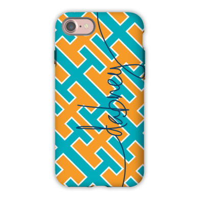 Monogram iPhone 7 / 7 Plus Case - Acupulco by Dabney Lee