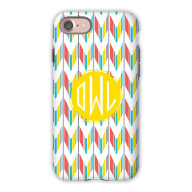 Monogram iPhone 7 / 7 Plus Case - Arrowhead by Dabney Lee