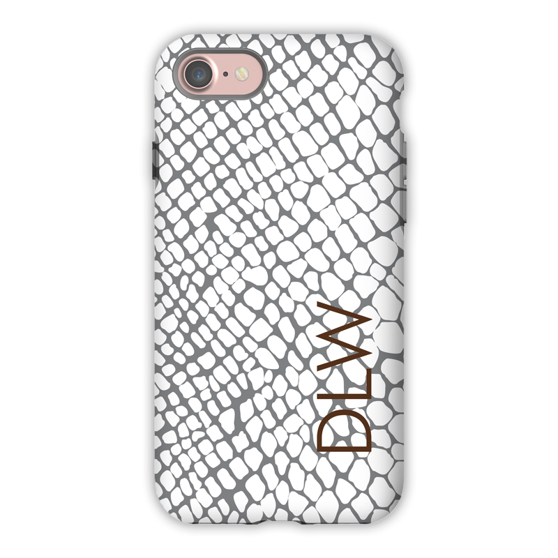 Monogram iPhone 7 / 7 Plus Case - Snakeskin by Dabney Lee