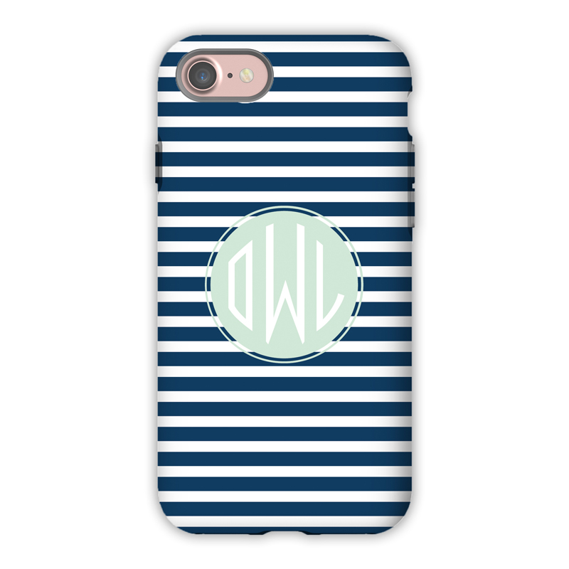 Monogram iPhone 7 / 7 Plus Case - Cabana 3 by Dabney Lee - Circle