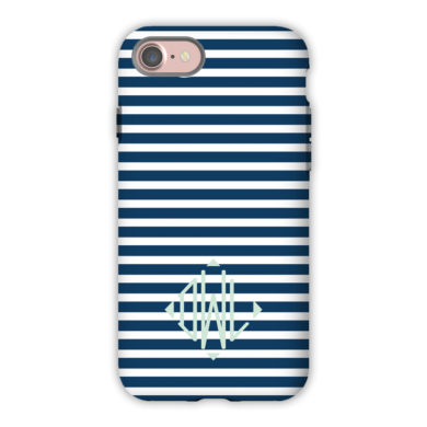Monogram iPhone 7 / 7 Plus Case - Cabana 3 by Dabney Lee - Diamond