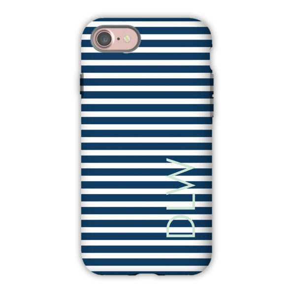 Monogram iPhone 7 / 7 Plus Case - Cabana 3 by Dabney Lee - Block