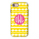 Monogram iPhone 7 / 7 Plus Case - Caterpillar by Dabney Lee - Circle