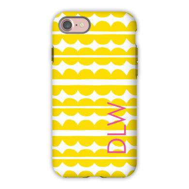 Monogram iPhone 7 / 7 Plus Case - Caterpillar by Dabney Lee - Block