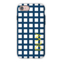 Monogram iPhone 7 / 7 Plus Case - Checks & Balances by Dabney Lee - Block