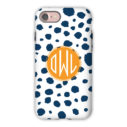 Monogram iPhone 7 / 7 Plus Case - Cheetah by Dabney Lee - Circle
