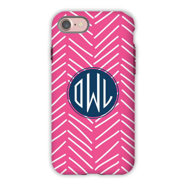 Monogram iPhone 7 / 7 Plus Case - Little Lines by Dabney Lee - Circle
