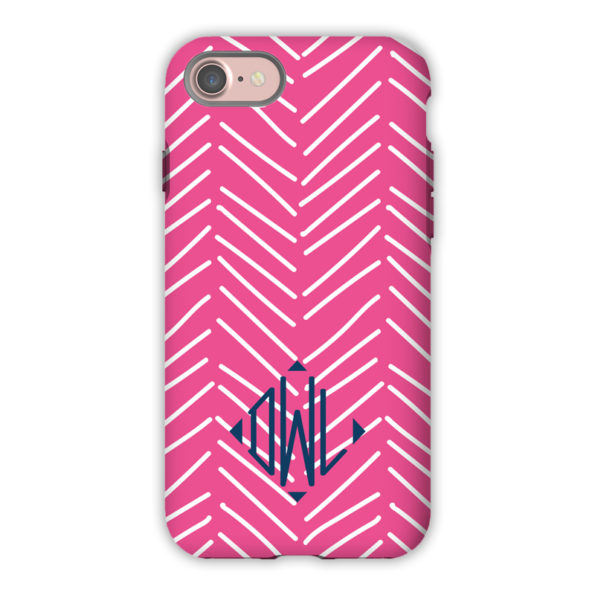 Monogram iPhone 7 / 7 Plus Case – Little Lines by Dabney Lee