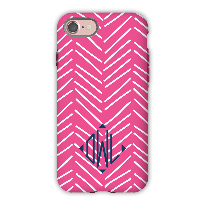 Monogram iPhone 7 / 7 Plus Case - Little Lines by Dabney Lee - Diamond
