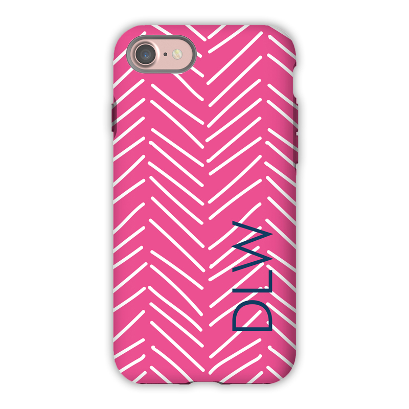 Monogram iPhone 7 / 7 Plus Case - Little Lines by Dabney Lee - Block