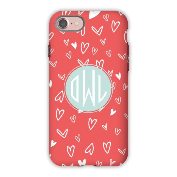 Monogram iPhone 7 / 7 Plus Case - Love It by Dabney Lee - Circle
