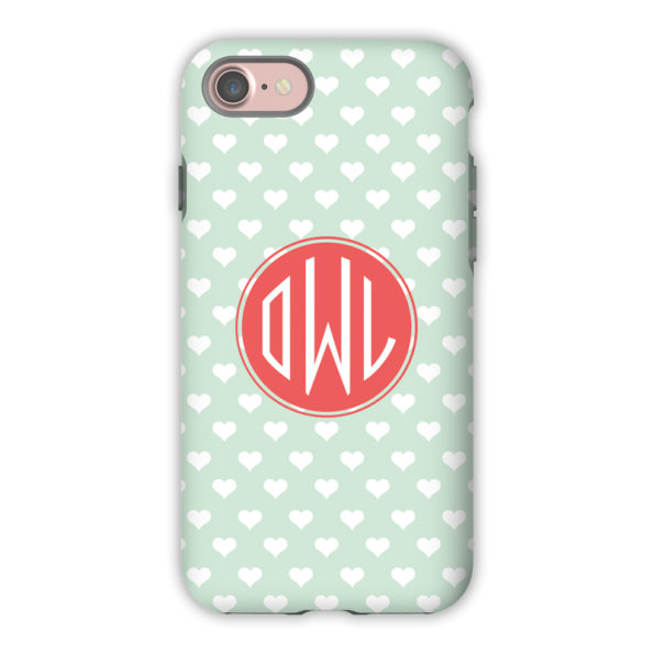Monogram iPhone 7 / 7 Plus Case - Minnie by Dabney Lee - Circle
