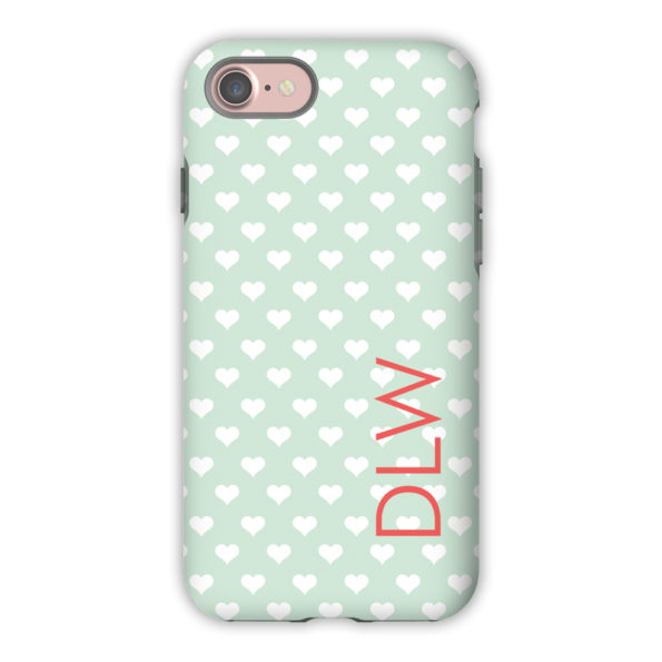 Monogram iPhone 7 / 7 Plus Case - Minnie by Dabney Lee - Block