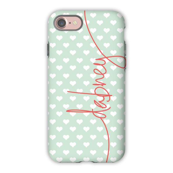 Monogram iPhone 7 / 7 Plus Case - Minnie by Dabney Lee - Script